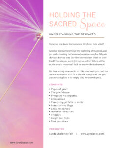 Holding the Sacred Space