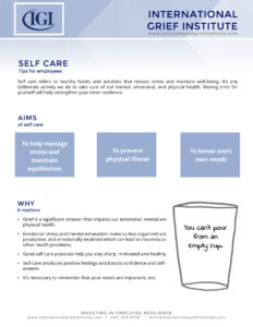 IGI Self Care Tips